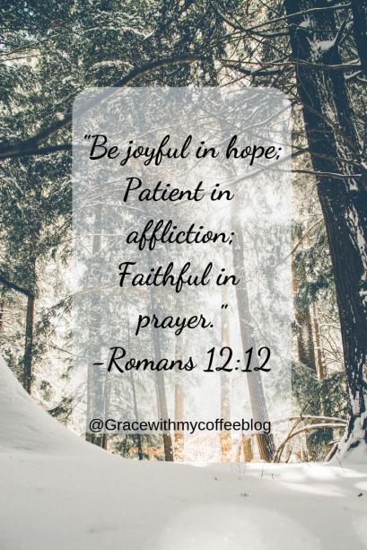 +Be joyful in hope